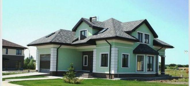 Фасад дома — индивидуальный стиль жилья