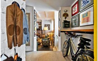 Уютная квартира в стиле лофт для архитектора