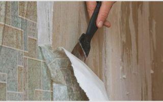 Как очистить стену от старых обоев и подготовить обои для покраски