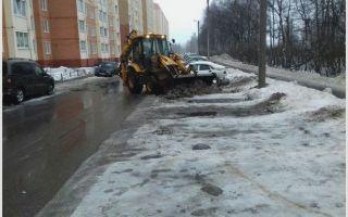Зимняя уборка территорий