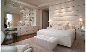 Белая спальня: 23 идеи + советы по оформлению
