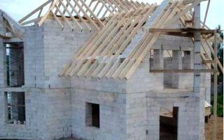 Строительство конструкций из газосиликатных блоков