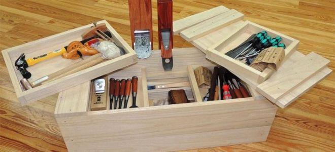 Ящик для инструментов своими руками металлический, пластиковый