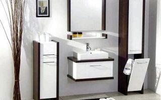 Мебель для ванной комнаты — как выбрать?