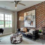15 Домашних офисов с кирпичными стенами