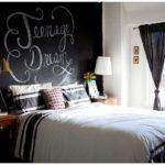 25 Спален с меловой доской