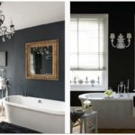 30 Удивительных черных интерьеров для ванной комнаты