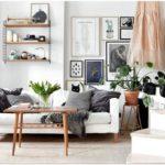 Черно-белый дизайн квартиры-студии
