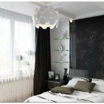 Черные шторы — 75 фото идей для элегантного интерьера