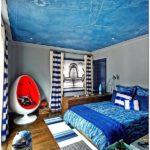 Дизайн потолка детской комнаты