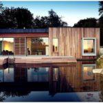 Дом в лесу от архитекторов pad studio