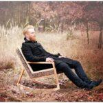 Haluz: деревянное скандинавское кресло