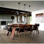 Эффектный дизайн столовой