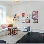 Легкие и стильные интерьеры для гостиной