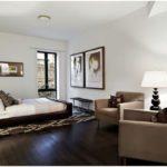 Простой и современный интерьер квартиры в нью йорке