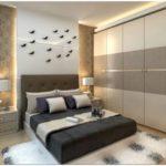 Шкаф в спальню — обзор современных моделей в интерьере спальни (50 фото)