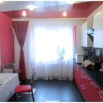 Шторы для кухни с балконной дверью: лучшие идеи оформления штор в кухне (75 фото)