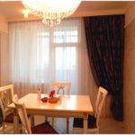 Шторы для столовой в квартире — 50 фото идей гармоничного сочетания штор в интерьере