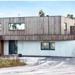 Шведский дом в живописной местности