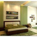 Спальня в зеленом цвете — выберите свой тон и стиль