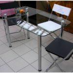 Стеклянный стол для кухни — 100 фото идеального дизайна в интерьере кухни