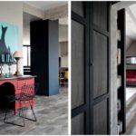 Стильная квартира в индустриальном стиле из парижа