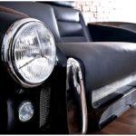 Удивительная мебель из автомобилей ferrari и bentley