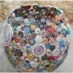 Украшение бокалов и вазы для цветов: 10 способов декора