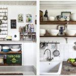 Винтажная кухня – потертый шик
