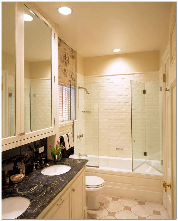 folding-shower-doors-bathroom-traditional-with-apartment-bathtub-shower-combo