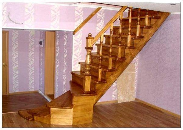 Как сделать деревянную лестницу своими руками с фото: расчет.