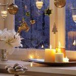 Украшение окон к новому году – новогодние рисунки на окнах