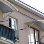 Крыша на балкон фото, как сделать крышу на балкон цена, ремонт козырька