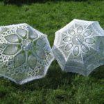 Схемы вязаных зонтов описание работы, советы по выполнению