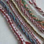 Как сделать шнурок из ниток 5 вариантов своими руками