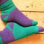 Мысок носка спицами 5 способов с описанием для начинающих