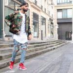 Как мужчинам носить высокие кроссовки с джинсами и другими брюками Подбираем верх