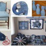 Классные идеи применения старых джинс