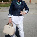 Белые джинсы с чем носить после 50 самые удачные сочетания