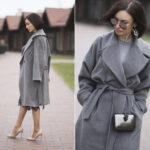 С чем носить и сочетать драповое пальто Стильные образы 2019