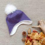 Выкройка подклада из флиса для вязаной шапки как сшить самостоятельно