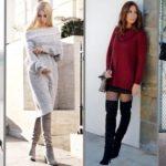 С чем носить шерстяное платье 6 самых популярных фасонов шерстяных платьев 2019