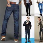Все фасоны мужских джинсов