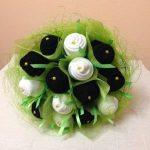 Букет из носков для мужчины своими руками (пошаговое фото) как сделать цветы из носков, подарочное
