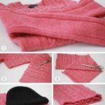 Что можно сделать из старого свитера как переделать старый свитер