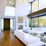 Стены из стекла в интерьере дома, проекты домов со стеклянными стенами