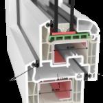 Пластиковые окна Brugmann, профиль ПВХ Бругманн