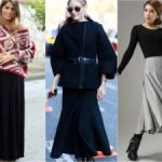 Как носить ботинки и длинную юбку Когда можно их сочетать Выбираем каблук