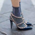 Как носить носки с люрексом Как их сочетать с ботинками и туфлями Какой цвет выбрать Примеры