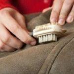 Как почистить замшевое пальто в домашних условиях с помощью народных средств, химических средств